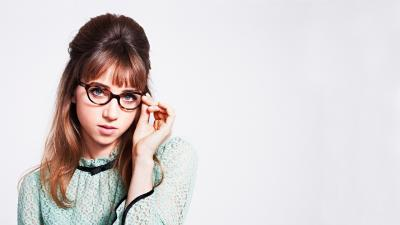 Zoe Kazan Glasses Wallpaper 57600