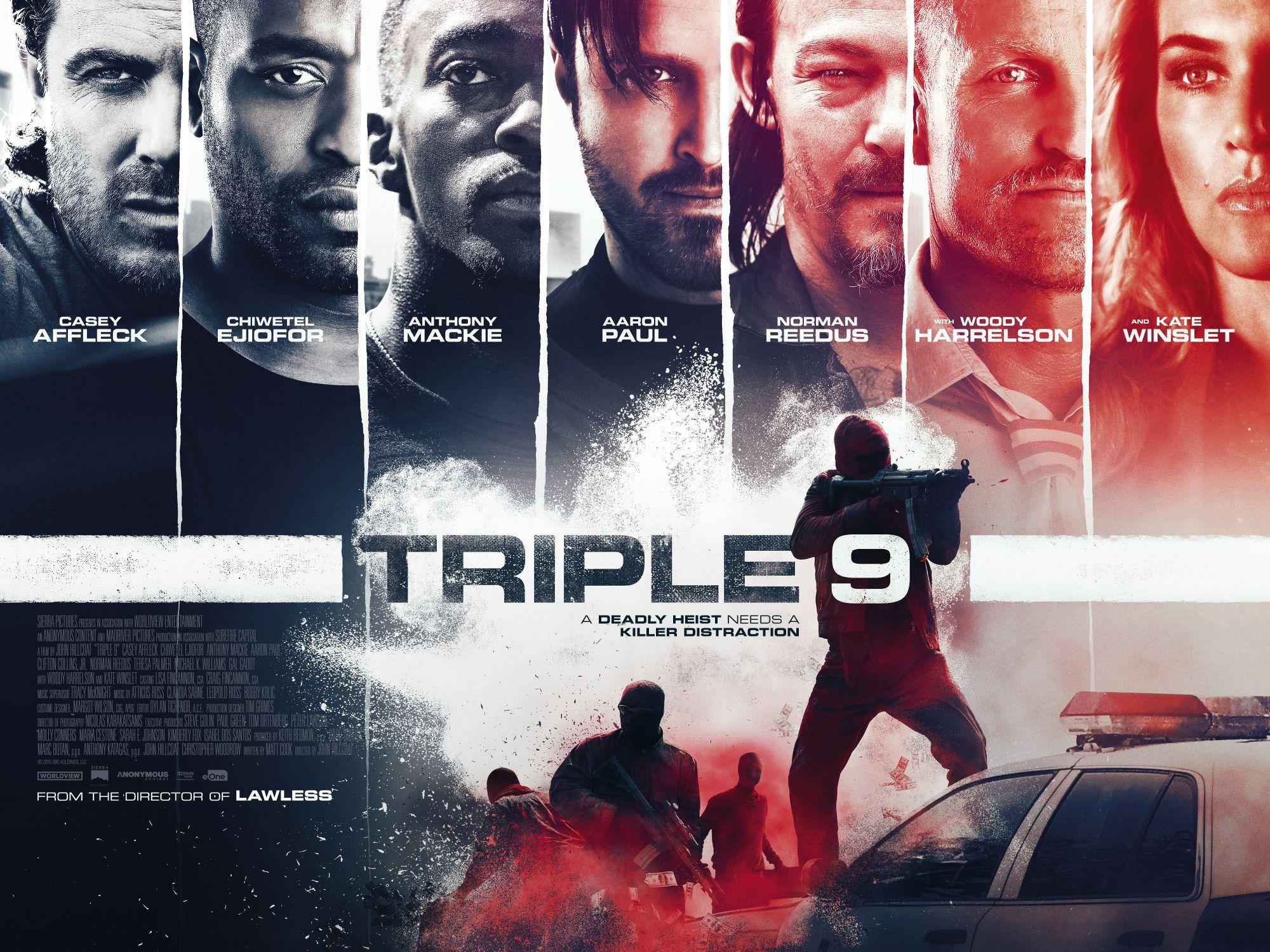 triple 9 movie poster wallpaper 52773