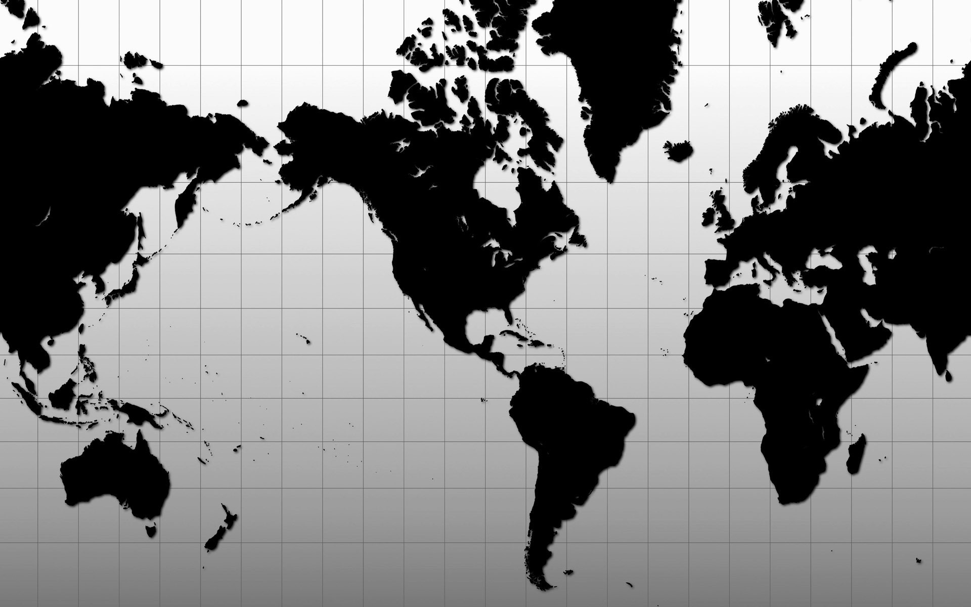 World Map Wallpaper 51296 1920x1200px