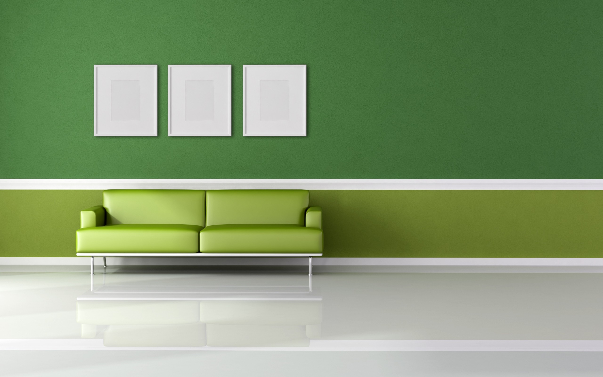 Green Sofa Wallpaper Background 49068 2560x1600px