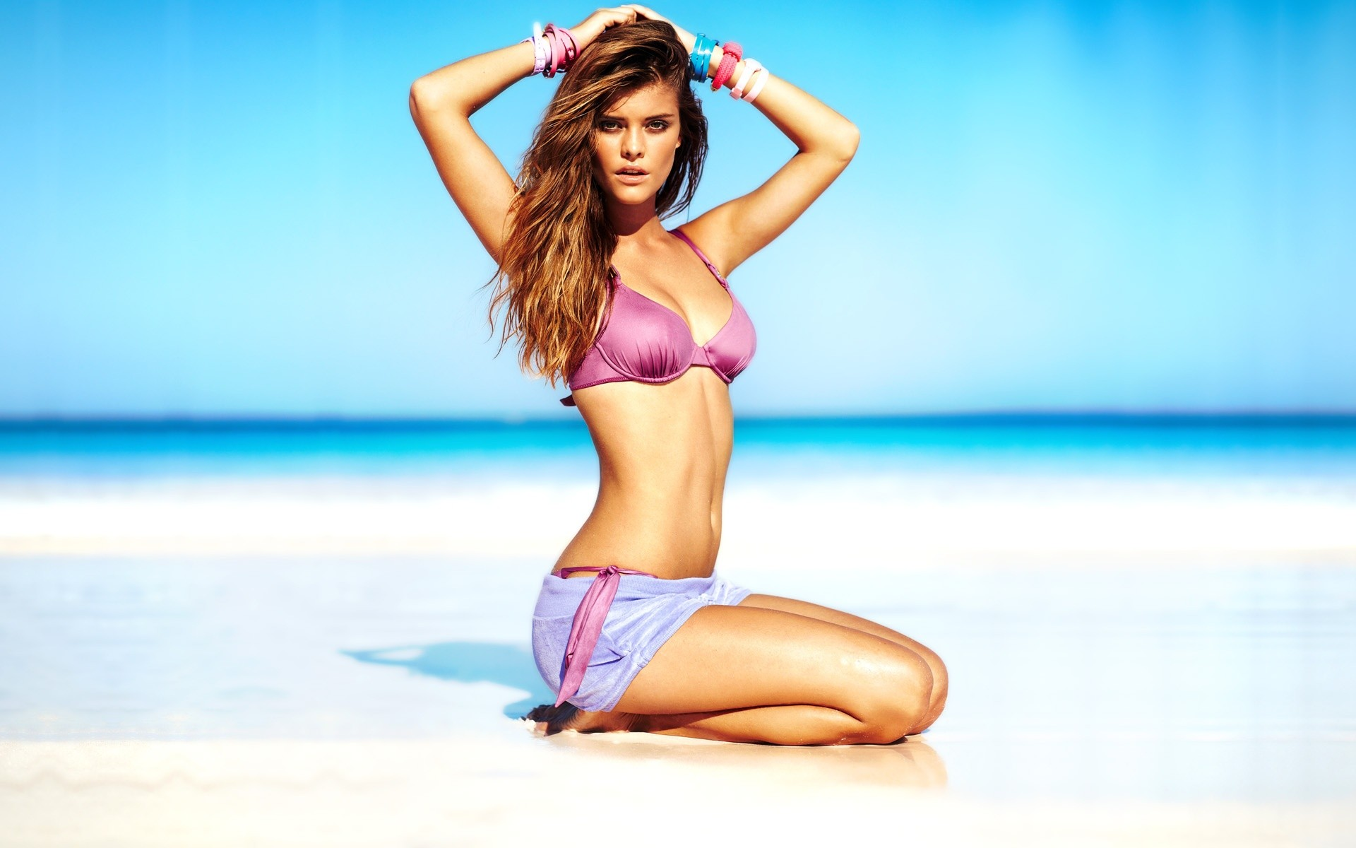 nina agdal bathing suit wallpaper 54310