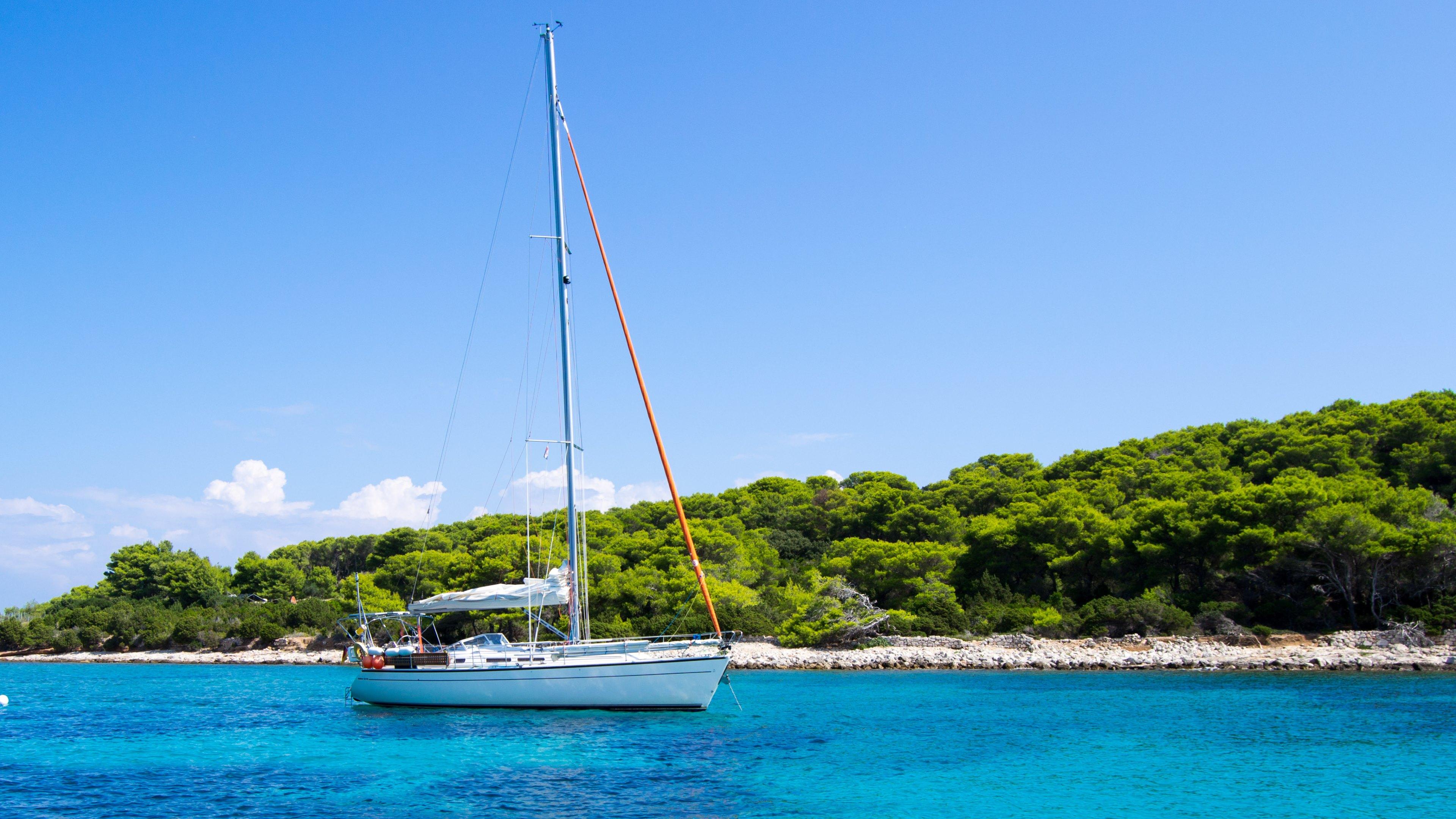 sailboat travel widescreen wallpaper 51561