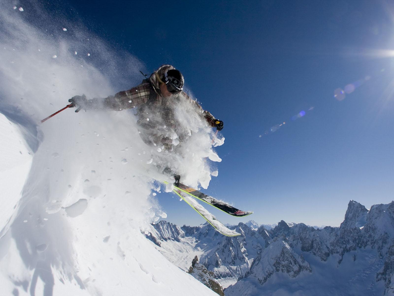 skiing computer wallpaper photos 53334