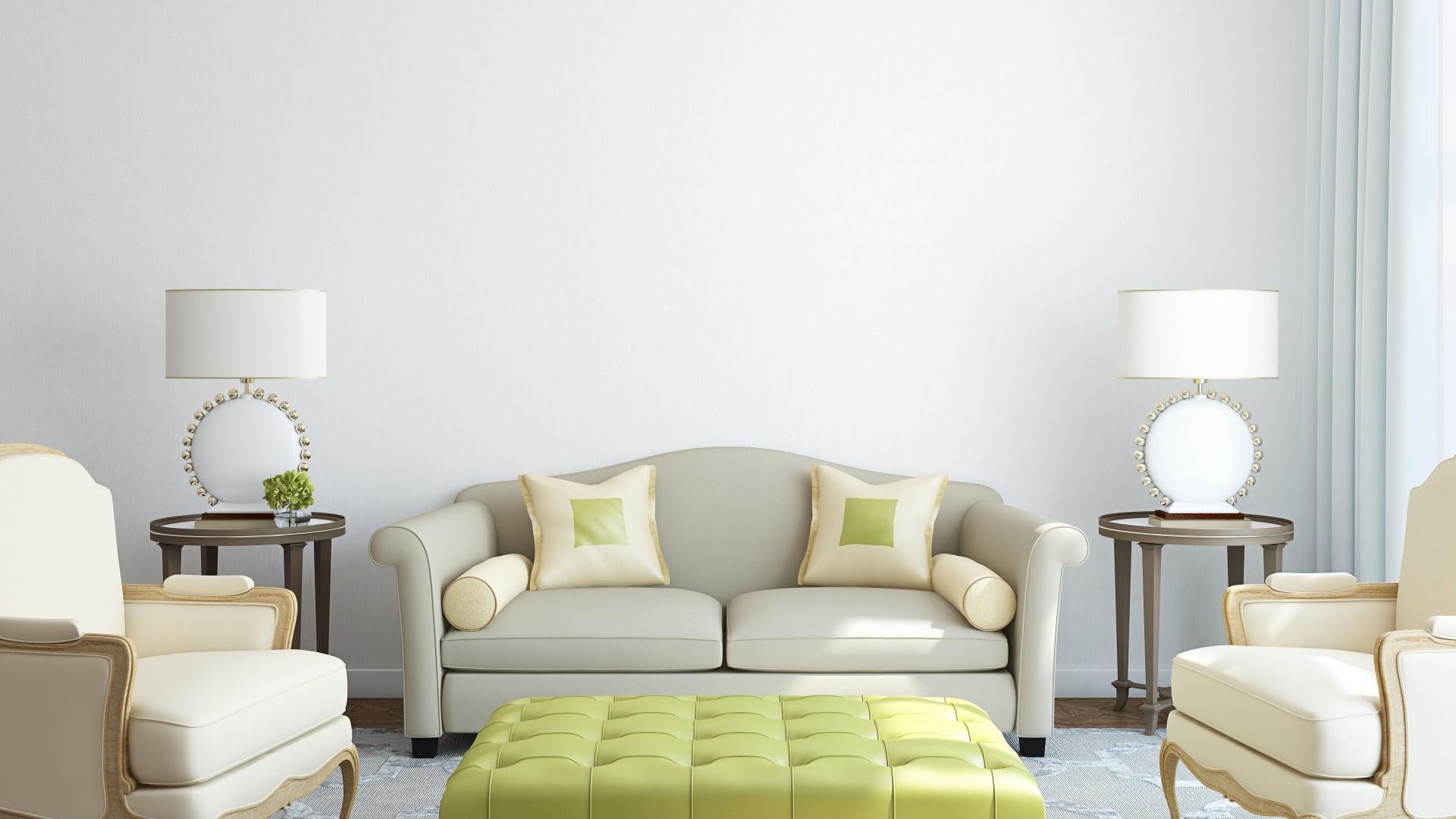blue living room sofa villa italy