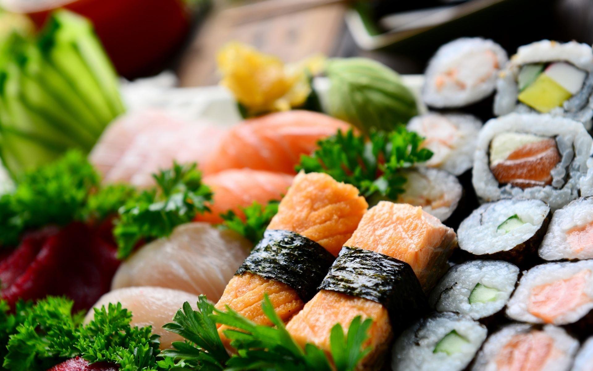 Sushi Desktop Wallpaper HD 49731 1920x1200 px ...