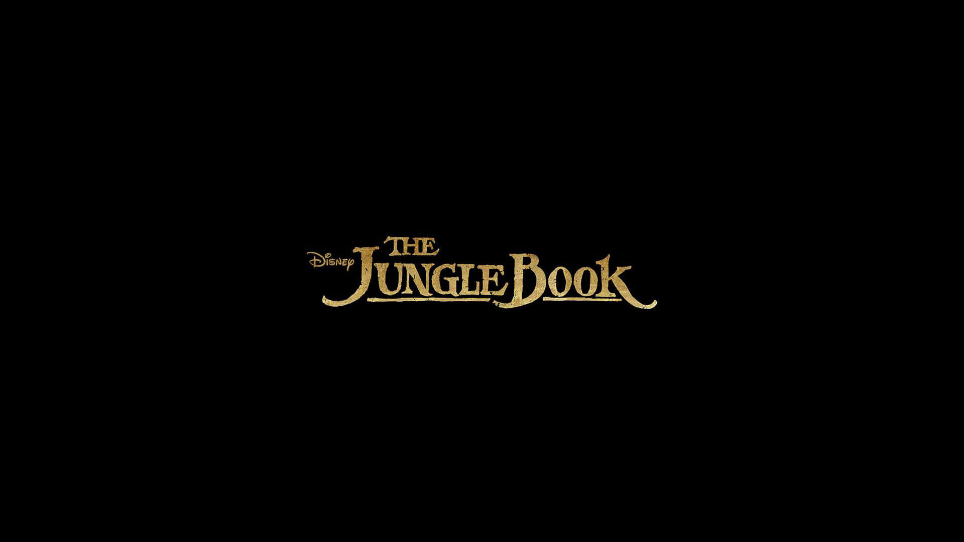 the jungle book movie logo wallpaper 51834