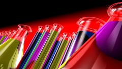 3D Chemistry Tubes Wallpaper 49705