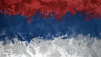 Abstract Serbia Flag Wallpaper 52187