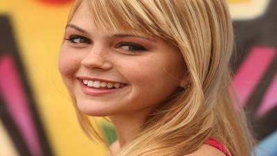 Aimee Teegarden Actress Smile Wallpaper 53377