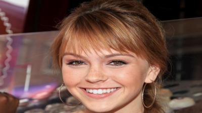 Aimee Teegarden Smile HD Wallpaper 53373