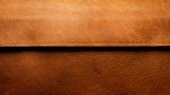 Brown Leather Wide Wallpaper 49508