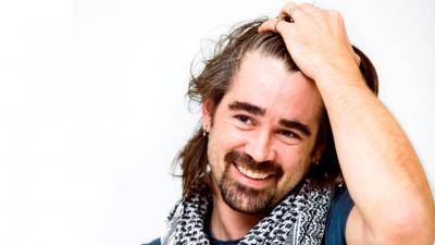 Colin Farrell Long Hair Desktop Wallpaper 51875