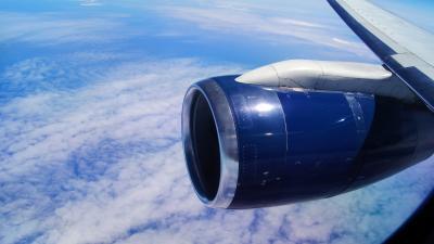 Commercial Plane Jet Engine 56177