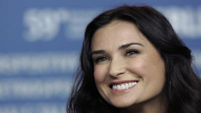 Demi Moore Smile Wallpaper Background 56891