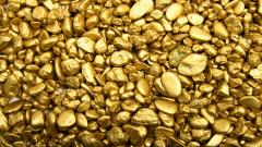 Gold Stones Wide Wallpaper 49490
