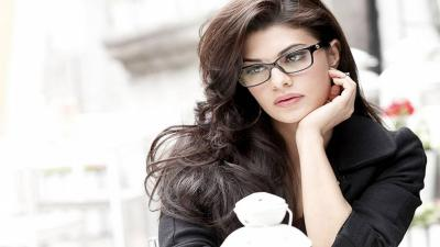 Jacqueline Fernandez Glasses Widescreen Wallpaper 51840