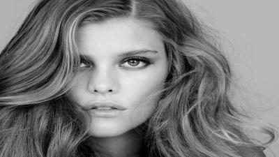Monochrome Nina Agdal Wallpaper 54311
