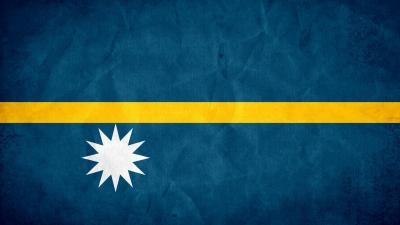 Nauru Flag Wallpaper 52197