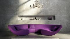 Purple Sofa Computer Wallpaper 49069