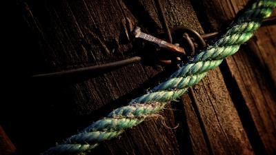 Rustic Rope Wide Wallpaper 52996