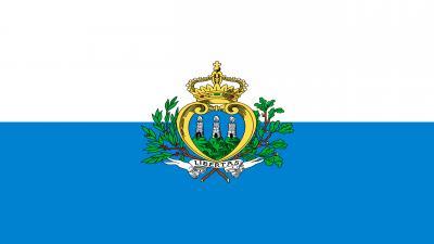 San Marino Flag Wallpaper Background 52186