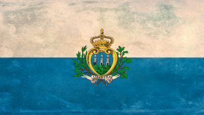 San Marino Flag Widescreen Wallpaper 52185
