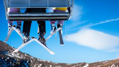 Ski Chair Lift Wallpaper 53325