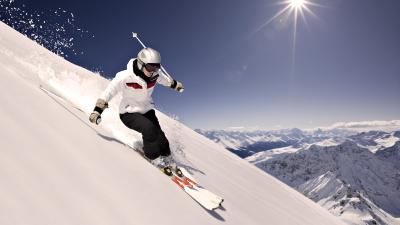 Skiing Desktop Wallpaper 53339