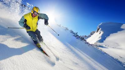Skiing Wallpaper 53332