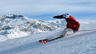 Skiing Widescreen Wallpaper 53335
