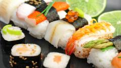 Sushi Food Wide Wallpaper 49723
