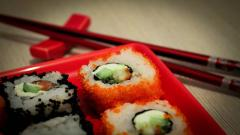 Sushi Up Close Wallpaper Background 49730