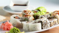 Sushi Widescreen Wallpaper 49719