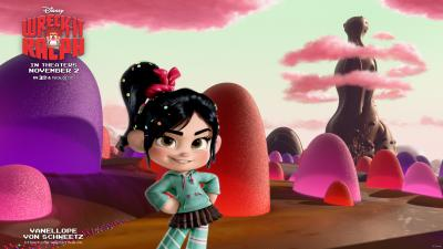 Wreck It Ralph Vanellope Von Schweetz Wallpaper 51820