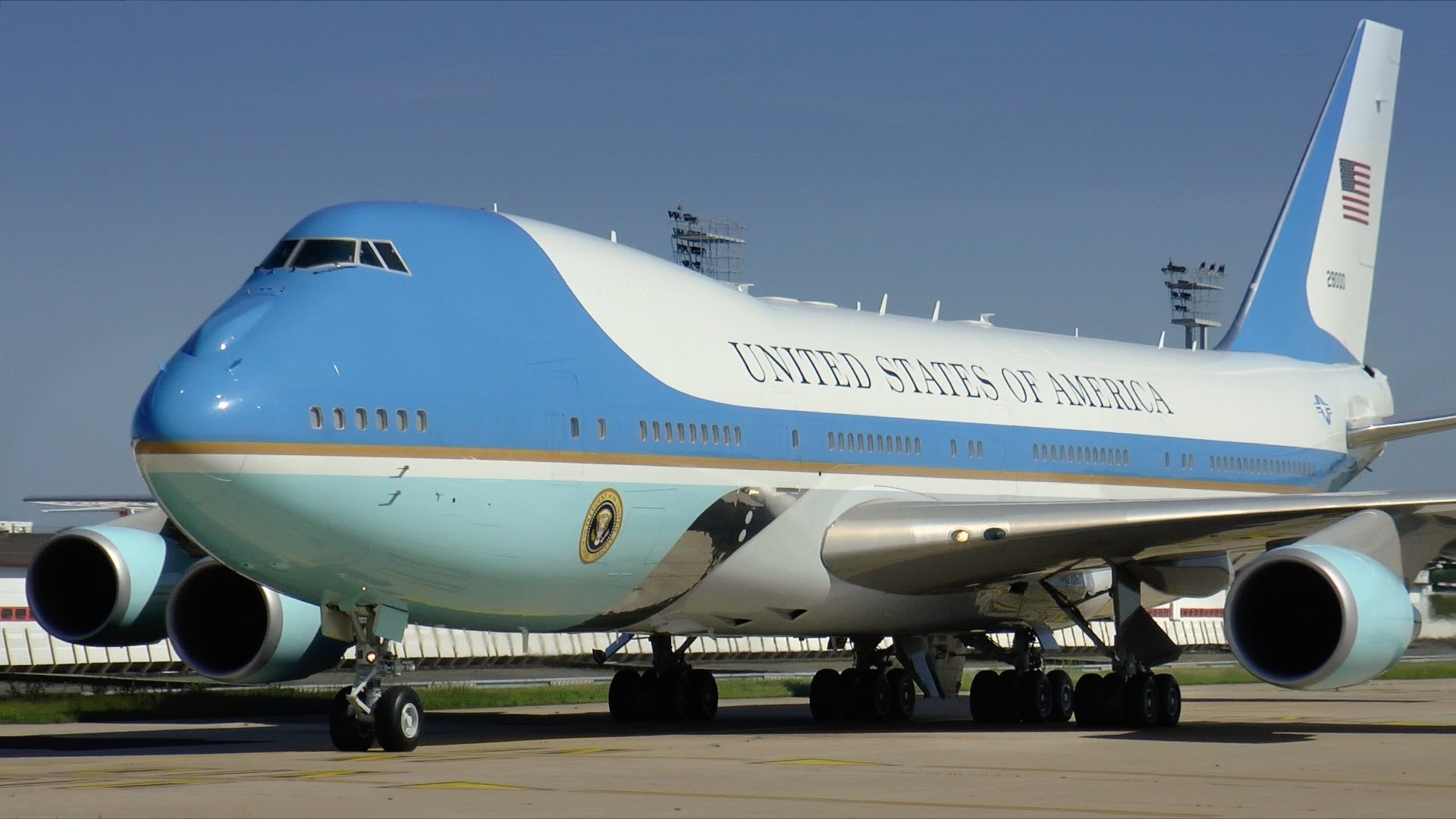 air force one plane wallpaper 59527