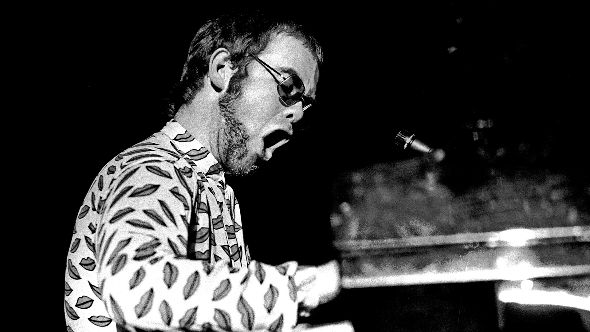 monochrome elton john wallpaper 60600