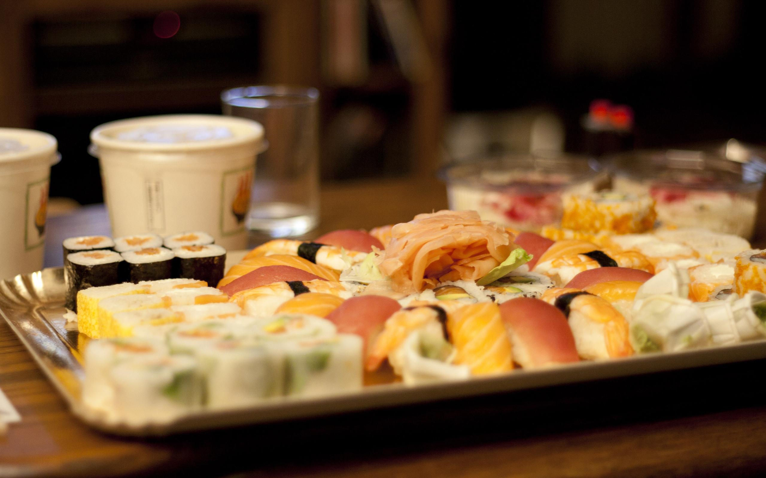sushi food wallpaper background 61347