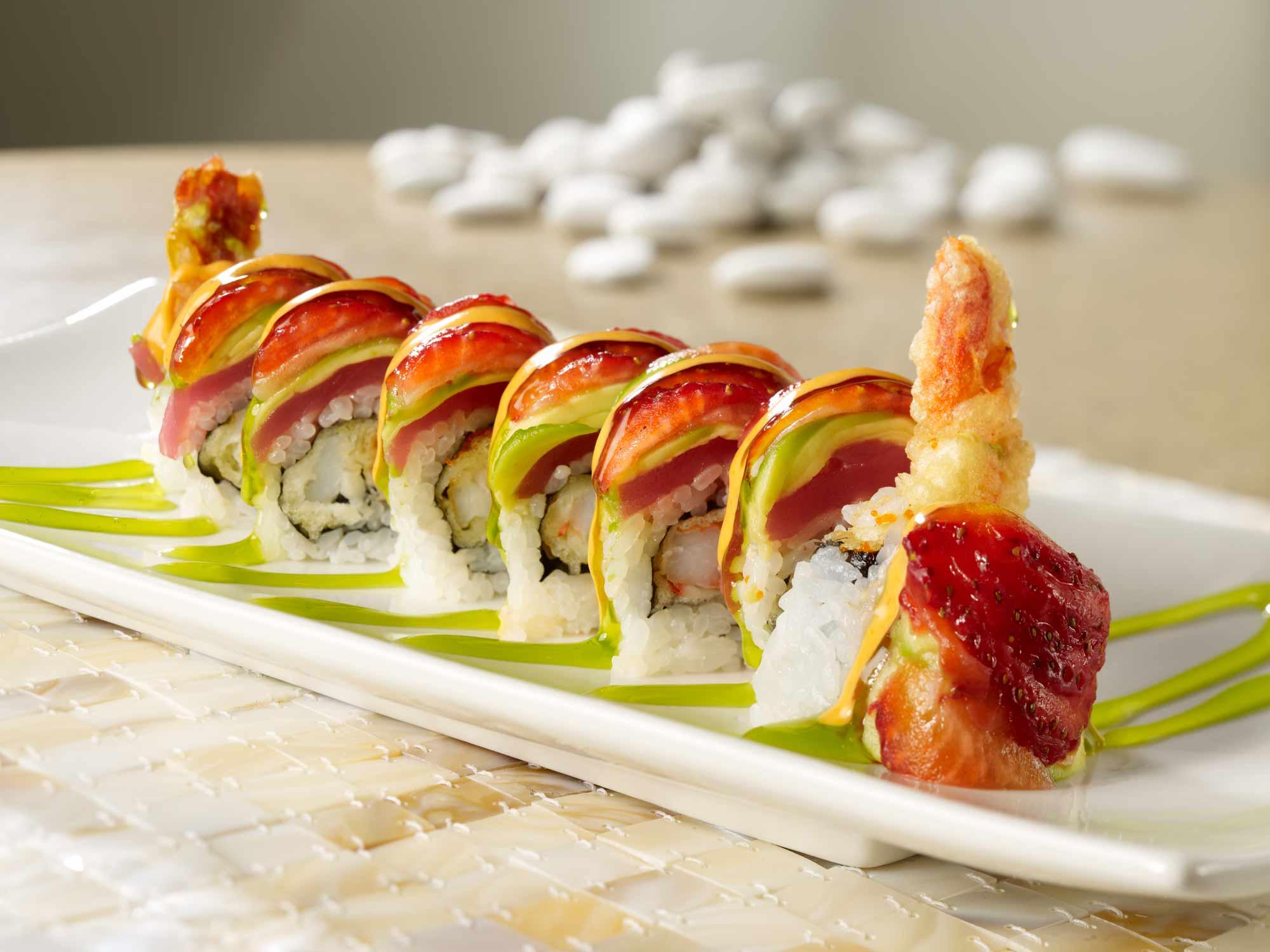 sushi plate computer wallpaper photos 61348
