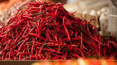 Hot Peppers Widescreen Wallpaper 62167