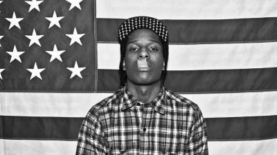 Monochrome ASAP Rocky Wallpaper 59045