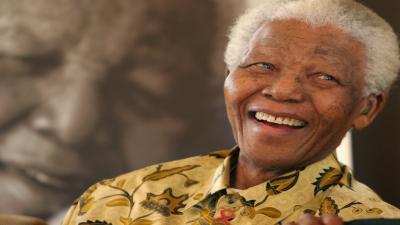 Nelson Mandela Smile Wallpaper 60012