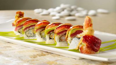 Sushi Plate Computer Wallpaper Photos 61348