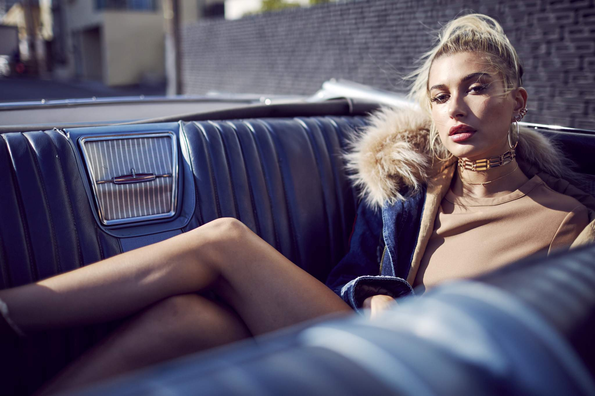 hailey baldwin model hd wallpaper 60083