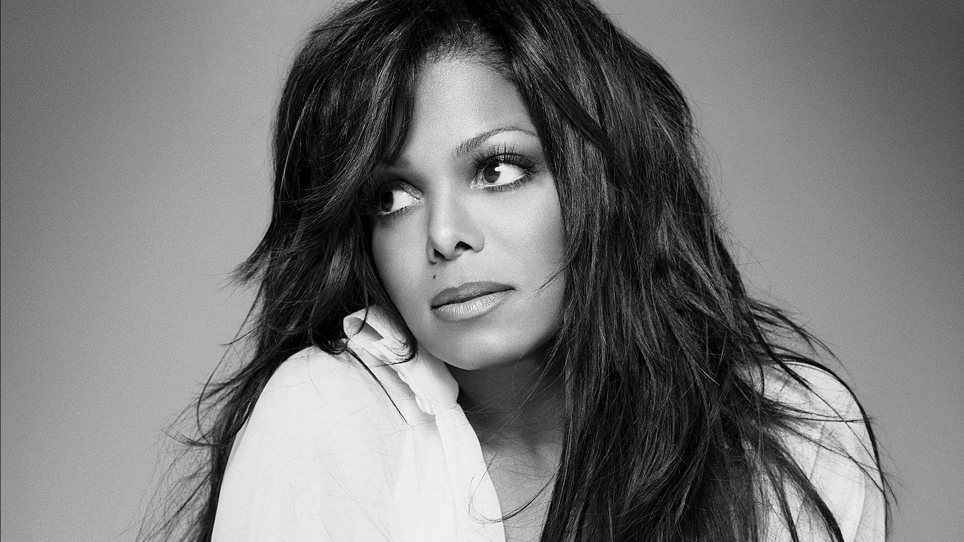 monochrome janet jackson wallpaper 60101