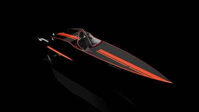 3D Speed Boat Wallpaper Background 60190