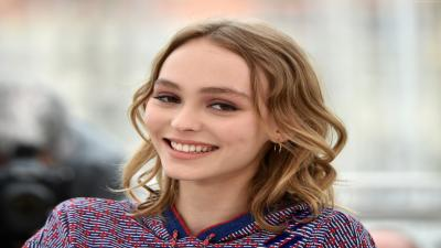 Lily Rose Depp Smile Wallpaper Background 61926