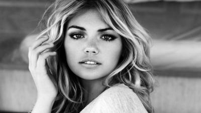 Monochrome Kate Upton Computer Wallpaper 60212