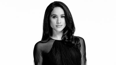 Monochrome Meghan Markle Desktop Wallpaper 60974