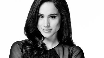 Monochrome Meghan Markle Wallpaper 60969
