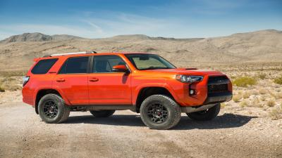 Orange Toyota 4Runner Wallpaper 61606